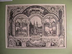 Goslar - Gesamtansicht mit 11 Teilansichten. //: Goslar -
