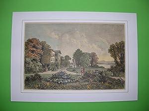 Eine Villa in Tutzing / Starnbergersee. //: Tutzing -