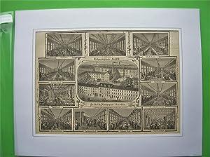 Nähmaschinen-Fabrik Seidel & Naumann. (12 Ansichten auf einem Blatt) //: Dresden...