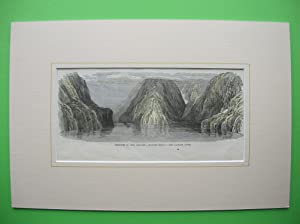 """Milford Sound - View looking down."""" //: New Zealand)"""