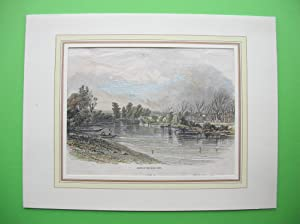 """Banks of the River Hutt."""" //: New Zealand)"""