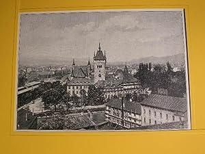 """Das neue eidgenössische Landesmuseum in Zürich."""" //: Landesmuseum Zürich -"""