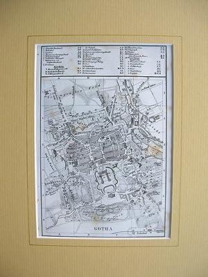 Stadtplan von Gotha //: Gotha