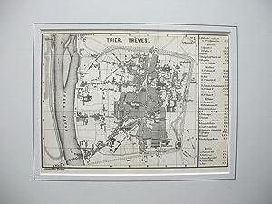 Trier. Trèves. //: Stadtplan von Trier -