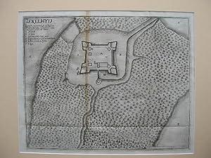 Zechelit Situato tre leghe da Varadmo fortissmo fabricato di mattoni cun acqua nella fossa e' ...