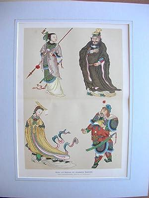 1. Tsch'iao-Kuo-fu-jen 2. Wu Tse-tien 3. Yo Fei 4. Hu Ta-hai //: Helden und ...