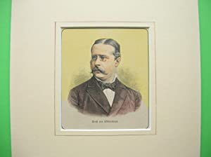 Ernst von Wildenbruch (Brustbild nach viertellinks) //: Porträt) -