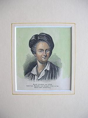Ewald Christian von Kleist //: Porträt) -