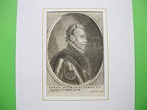 Juan d`Austria (1547 - 1578) //: Porträt - Juan d'Austria