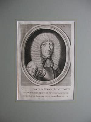 General Graf Coligny //: Schlacht bei Mogersdorf, 1664 / Graf Coligny