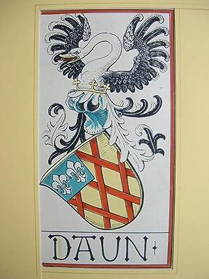 """Wappen des Geschlechts """"Daun"""" //: Adelswappen /Heraldry /Coat of arms to ..."""