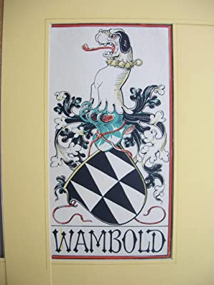 "Wappen des Geschlechts ""Wambold von Umstatt"" //: Adelswappen /Heraldry /Coat of..."