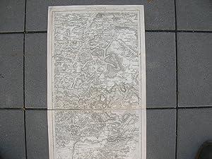 Charte von Schwaben. Trigonometrisch aufgenommen und gezeichnet von J. A. von Amman, Königl. ...