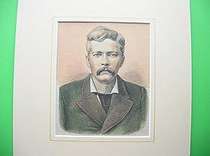 """H. M. Stanley"""" (1841 - 1904) //: Porträt)"""