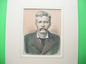 "H. M. Stanley"" (1841 - 1904) //: Porträt - H. M. Stanley"