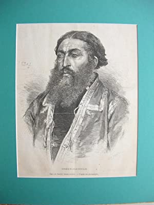 Sheer-Ali-Khan, Emir von Kabul: Porträt - Sheer-Ali-Khan
