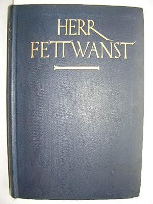 Herr Fettwanst. Eine amerikanische Autobiographie. //: Ornitz, Samuel) :