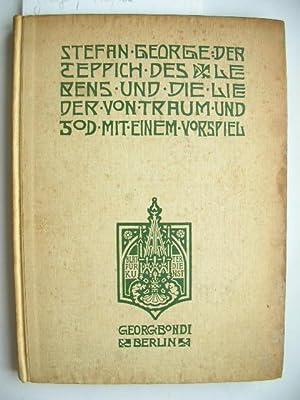 Der Teppich des Lebens und die Lieder von Traum und Tod, mit einem Vorspiel. //: George, ...