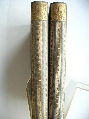 Wilhelm von Humboldts Briefe an eine Freundin. //: Leitzmann, Albert (Hrsg.) :