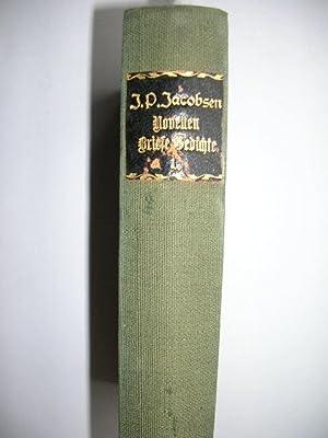 Gesammelte Werke, 1. Band. (Novellen, Briefe, Gedichte). //: Jacobsen, Jens Peter :