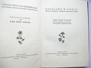 Auswahl seiner Erzählungen //: Gogol, N. W.