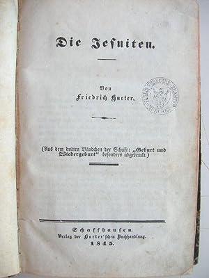 Die Jesuiten //: Friedrich Hurter