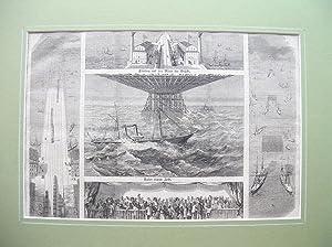 """Die internationale Brücke zwischen Dover und Calais."""" //: Brückenbau (siehe ..."""