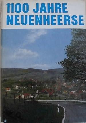 1100 Jahre Neuenheerse - Bilder und Blätter aus reicher Vergangenheit - Heimatbuch anlä&...