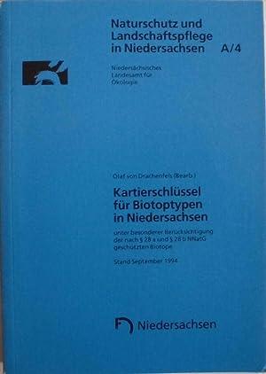 Kartierschlüssel für Biotoptypen in Niedersachsen, unter besonderer Berücksichtigung...