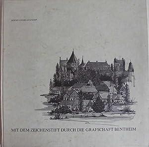 Mit dem Zeichenstift durch die Grafschaft Bentheim: Knoop, Bernd Andreas