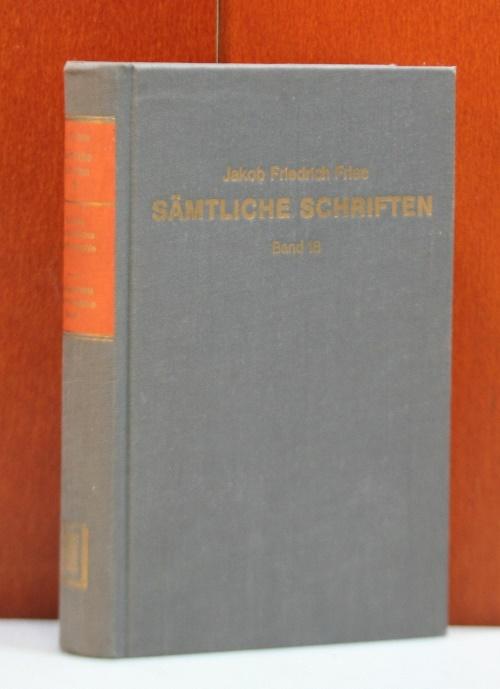 Die Geschichte der Philosophie. Band 1 (1837).: Fries, Jakob Friedrich: