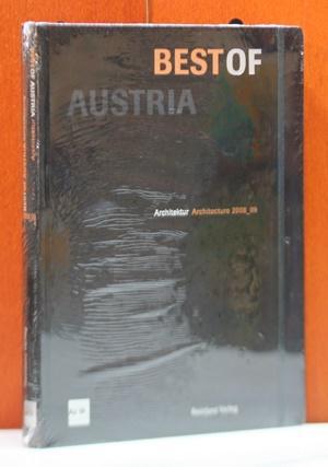 Best of Austria 2. Architektur Architecture 2008 / 09. Herausgegeben vom Architekturzentrum Wien. - Architekturzentrum, Wien