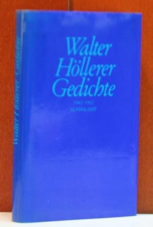 Gedichte 1942 1982 Von Höllerer Walter Frankfurt