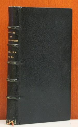 Poesies 1866 - 1872. Les Epreuves, Les: Prudhomme, Sully: