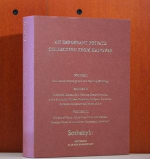 An Important Private Collection from Hanover. Vol.