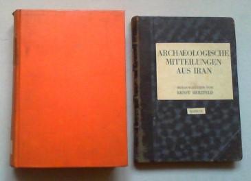 Archaeologische Mitteilungen aus Iran. Bde. VI-IX (von 9) in 2 Bdn.: Herzfeld, Ernst (Hg.):