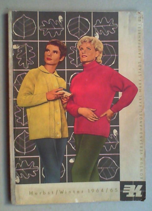 735764e955d8a7 Katalog Herbst   Winter 1964 65.  KONSUM-Versandhandel