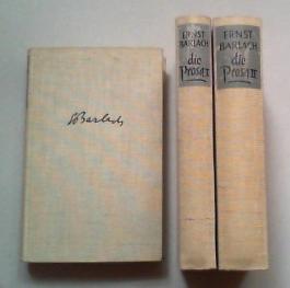 Das dichterische Werk in drei Bänden. Hg. von Friedrich Droß und Klaus Lazarowicz. 3 Bde...