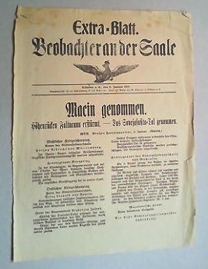 Extra-Blatt. Beobachter an der Saale. 2. Januar 1917.