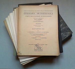 Inventaria archaeologica. Corpus des ensembles archéologiques. Pologne. Fascicule 1-20 (Pl. ...