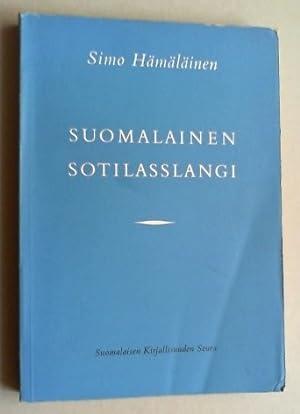 Suomalainen sotilasslangi. Ensimmäinen osa. Sanasto.: Hämäläinen, Simo: