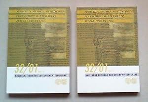 Sprache, Mythen, Mythizismen. Festschrift für Walter Beltz zum 65. Geburtstag am 25. April ...