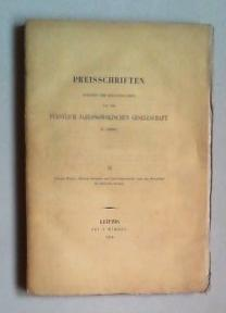 Danzigs Handels- und Gewerbegeschichte unter der Herrschaft des Deutschen Ordens.: Hirsch, Theodor: