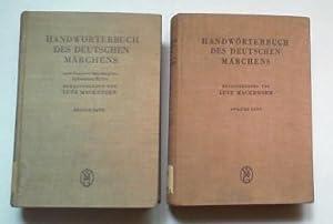 Handwörterbuch des deutschen Märchens. 2 Bde.: Mackensen, Lutz und Johannes Bolte (Hg.):