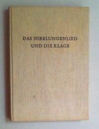 Das Nibelungenlied und die Klage. Handschrift C der F. F. Hofbibliothek Donaueschingen. Kommentar [...
