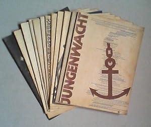 Jungenwacht. Ein Blatt evangelischer Jugend. Ausgabe A. Jg. 9 (1949) in 12 Originallieferheften.