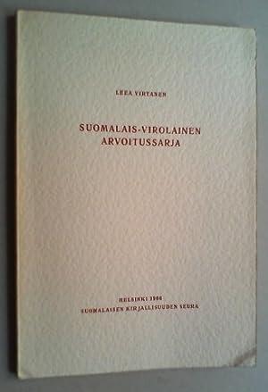 Suomalais-virolainen arvoitussarja.: Virtanen, Leea: