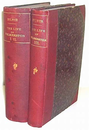 The Life of Henry John Temple, Viscount Palmerston. With selections from his Diaries and Correspo...