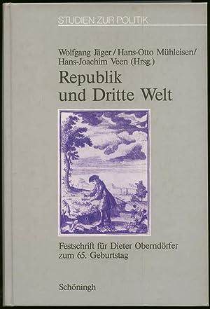 Republik und Dritte Welt. Festschrift für Dieter: Jäger, Wolfgang, Hans-Otto