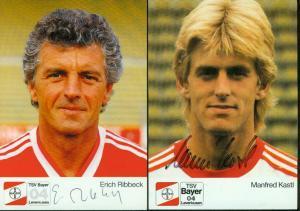 Bayer 04 Leverkusen 87/88: Autogrammkarten: